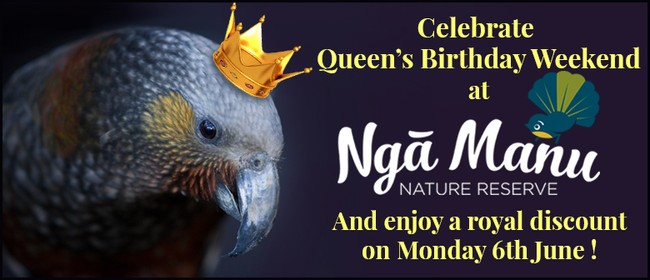 Queen's Birthday - Royal Discount Monday
