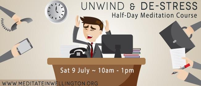 Unwind & De-stress Half Day Course