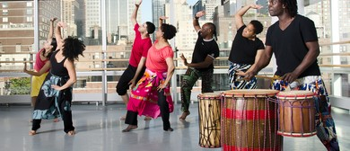African Dance Workshop With Live Drummers