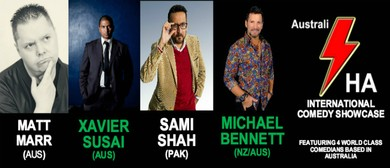 AustraliHA International Comedy Showcase: CANCELLED