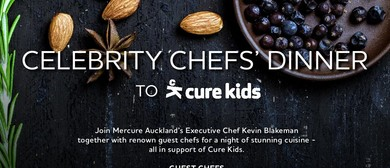 Cure Kids Celebrity Chef Dinner at Mercure Auckland