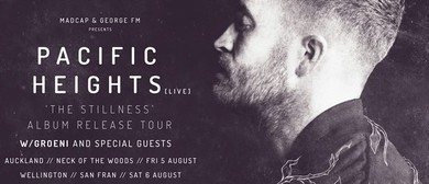 Pacific Heights - The Stillness Album Tour