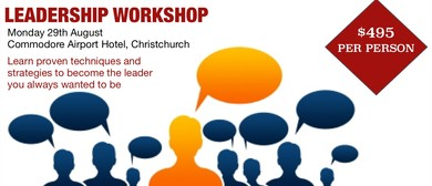 Leadership: A Mark Wager Workshop