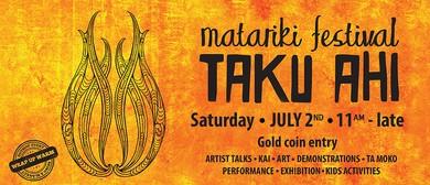 Taku Ahi Festival