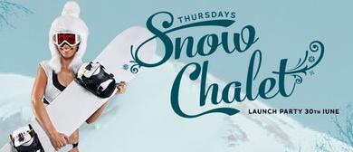 Thursday Snow Chalet
