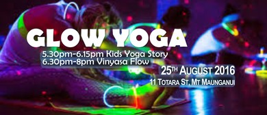 Glow Yoga Kids Story / Adult Vinyasa Yoga