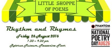 Little Shoppe of Poems - Rhythm and Rhymes Festival