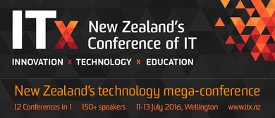 ITx 2016 - New Zealand's Technology Mega-Conference