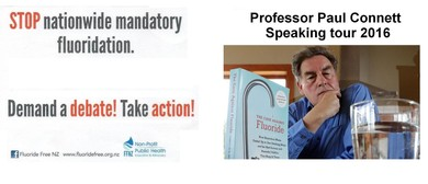 Stop Mandatory Water Fluoridation - Professor Paul Connett