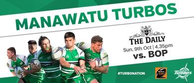Manawatu Turbos vs Bay of Plenty