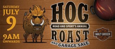 Road and Sport Hog Roast and Garage Sale