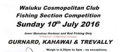 Fishing Section Trevalli, Kahawai & Trevally