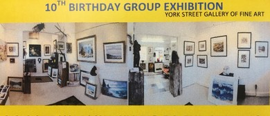 10th Birthday of Gallery- Group Artist Exhibition