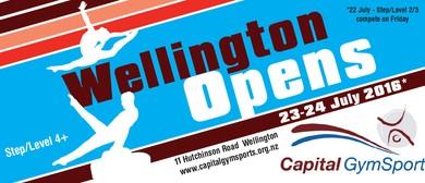 Wellington Opens - National Gymnastics Competition