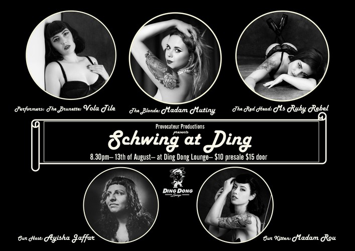 Schwing At Ding - Auckland - Eventfinda