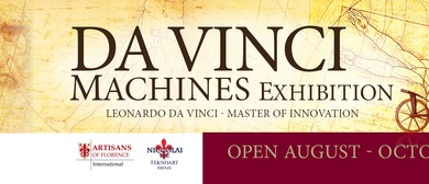 Da Vinci Machines Exhibition