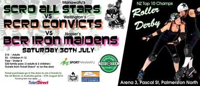 Roller Derby Top 10 Champs: SCRD vs RCRD vs BCR