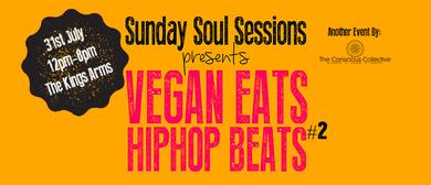 Vegan Eats Hiphop Beats with Freestyle Rap Comp