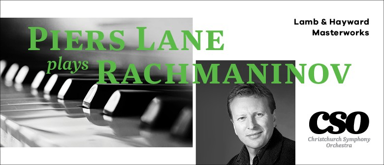 Lamb & Hayward Masterworks: Piers Lane plays Rachmaninov