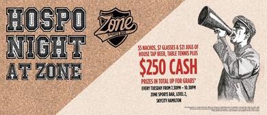 Hospo Night at Zone