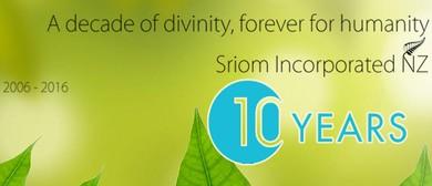 Sri Om Inc NZ 10th Anniversary Celebrations
