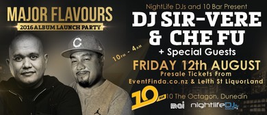 DJ Sir-Vere & Che Fu - Major Flavours 2016 Album Launch