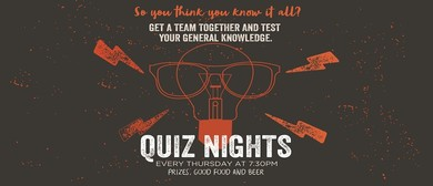 The Local Taphouse Quiz Nights