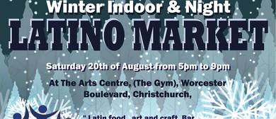 Latino Market, Night & Indoor