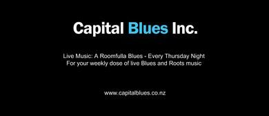 Roomfulla Blues Jam Night - MC Julie Lamb