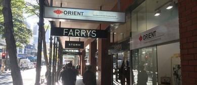 Orient Pop-up Shop