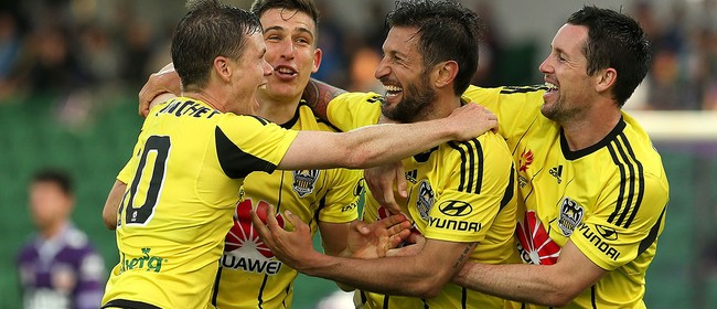 Hyundai A-League - Wellington Phoenix vs Melbourne City FC