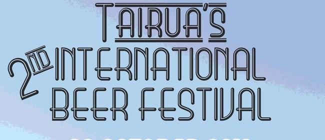 Tairua's 2nd Beer Festival & All Blacks vs Australia