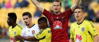 Hyundai A-League - Wellington Phoenix vs WS Wanderers