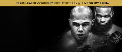 UFC 201: Lawler vs Woodley