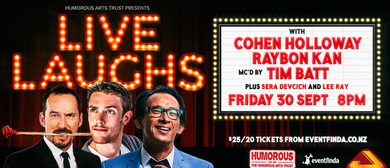 Live Laughs with Raybon Kan and Cohen Holloway