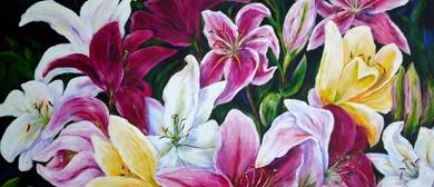 Full Bloom - Paintings by Natalie Harvey-Wells
