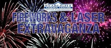 Starlight Cinema Fireworks and Laser Extravaganza