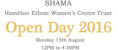 Shama Hamilton Ethic Women's Centre Trust Open Day