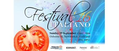 Festival Italiano 2016