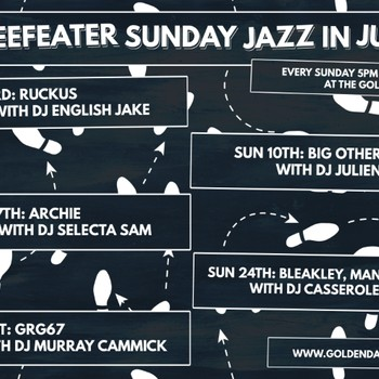 Beefeater Sunday Jazz With Basil32 and DJ Murray Cammick
