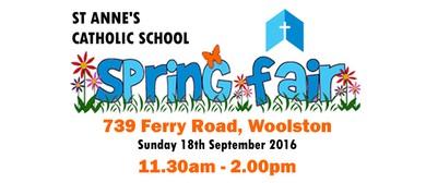 St Anne's Catholic School Spring Fair