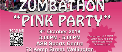 "Annual ""Pink Party"" Zumbathon"