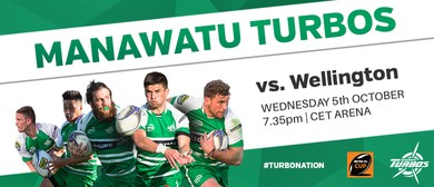 Manawatu Turbos vs Wellington