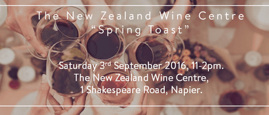 NZ Wine Centre Spring Toast