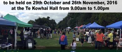 Te Kowhai Country Market Day