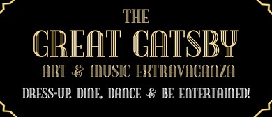 The Great Gatsby Art & Music Extravaganza