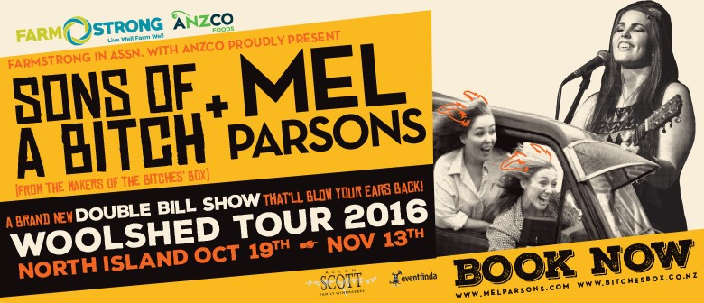 'Sons of a Bitch' & Mel Parsons: SOLD OUT