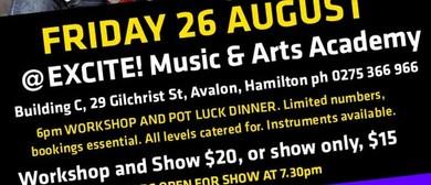 The Nukes Hamilton Pot Luck - Workshop & Show
