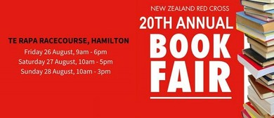 NZ Red Cross 20th Annual Book Fair