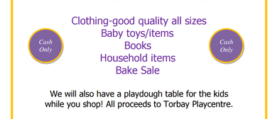 Torbay Playcentre Secondhand Sale